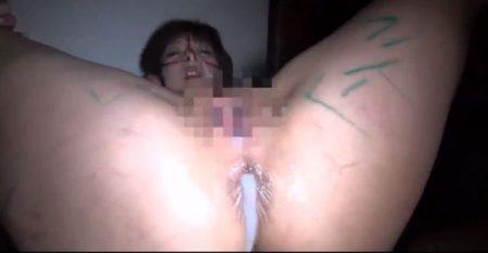 デブスでメス豚の人妻が旦那の前で緊縛寝取られレイプされる 画像
