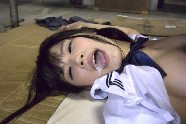 【白咲碧】JKが鬼畜集団に監禁され引き裂き凌辱レイプされる!