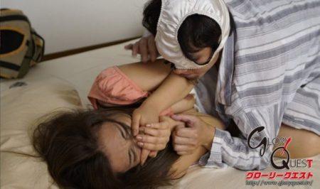 松本メイ 夫の実家に帰省した人妻が義理の弟に襲われレイプされる 画像
