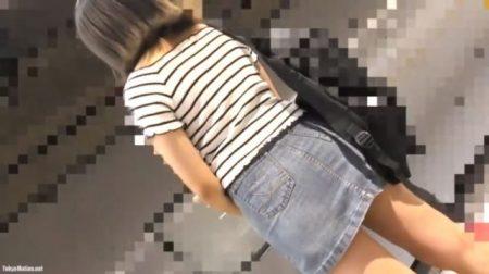 ストーキングされた女子大生が痴漢魔にチンポもハメられちゃうwww 画像