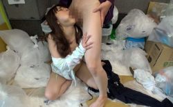 涼海みさ ノーブラでゴミ捨てに来た若妻がゴミ捨て場でゴミのように犯される動画 画像