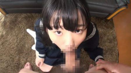 姫川ゆうな 無垢な制服美少女がオッサンのチンポを口いっぱいに頬張っちゃう動画 画像