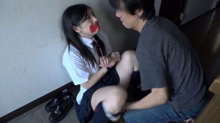 永井みひな 変質者にストーキングされた女子校生が拘束され押し込みレイプされる動画 画像