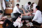 神ユキ 女教師が不良生徒に自宅を占拠され監禁輪姦レイプされる動画 画像