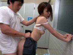 女子○生公衆トイレ鬼畜レ●プ映像(19)