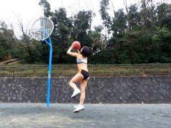 乳Mバスケットボール選手 杉原みう(2)